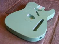 replacement tele body surf green © 2017 42nd Street Guitars