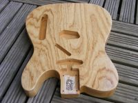 Replacement body for Telecaster, premium swamp ash © 2018 42nd Street Guitars