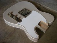 Replacement Tele body and hardware, double bound, desert sand © 2018 42nd Street Guitars