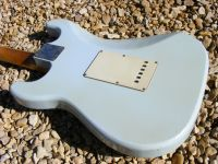 Series 6, faded Sonic blue © 2020 42nd Street Guitars