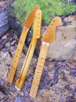 Replacement necks for Strat and Tele, aged nitro © 2018 42nd Street Guitars