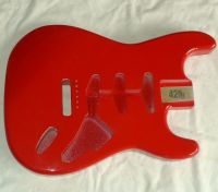42nd street  Series 6 Hot rod red © 2020 42nd Street Guitars