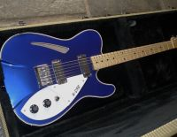 42nd street R cab thinline midnght blue © 2020 42nd Street Guitars